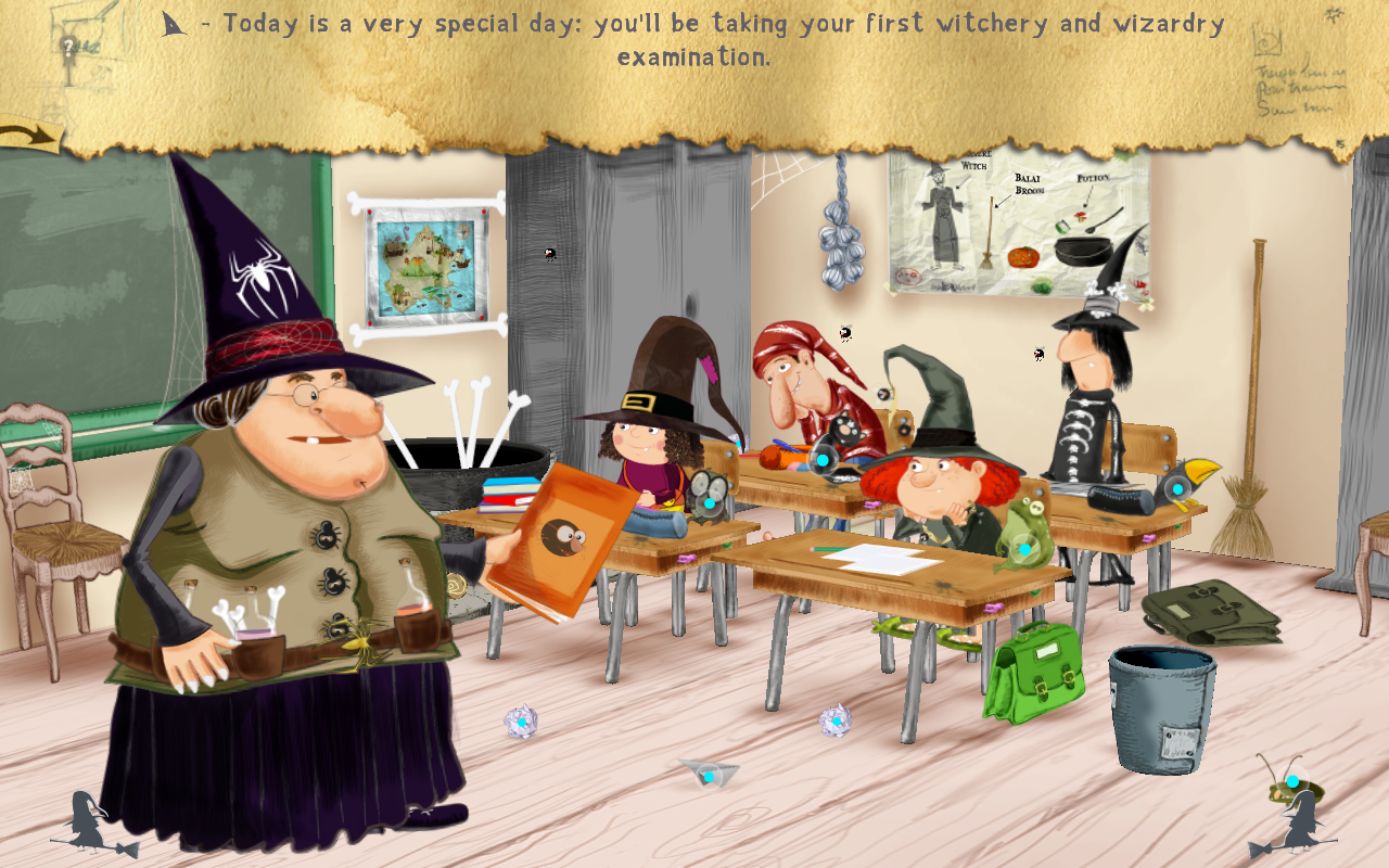 The Little Witch at Scho… Free- screenshot