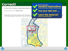 Screenshot of FAA Sport Pilot Test Prep