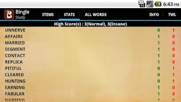 Screenshot of Scrabble Bingo Game Full
