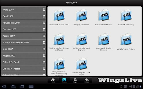 WingsLive - Tablet - screenshot thumbnail
