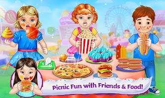 Screenshot of Baby Food Fair - Make & Play