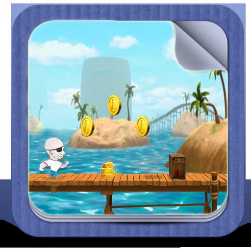 Pirate Run Crasher LOGO-APP點子