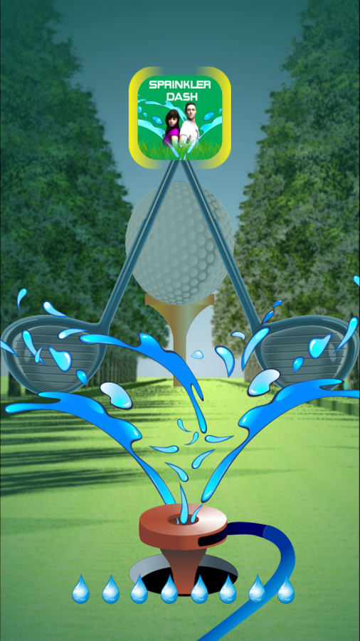 SprinklerDash (Golfcourse Run)- screenshot