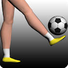 Real 3D Football Juggling icon