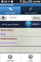 Screenshot of Karmic Pocket