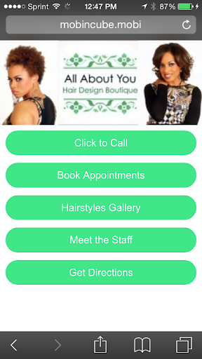 All About You Hair Designs