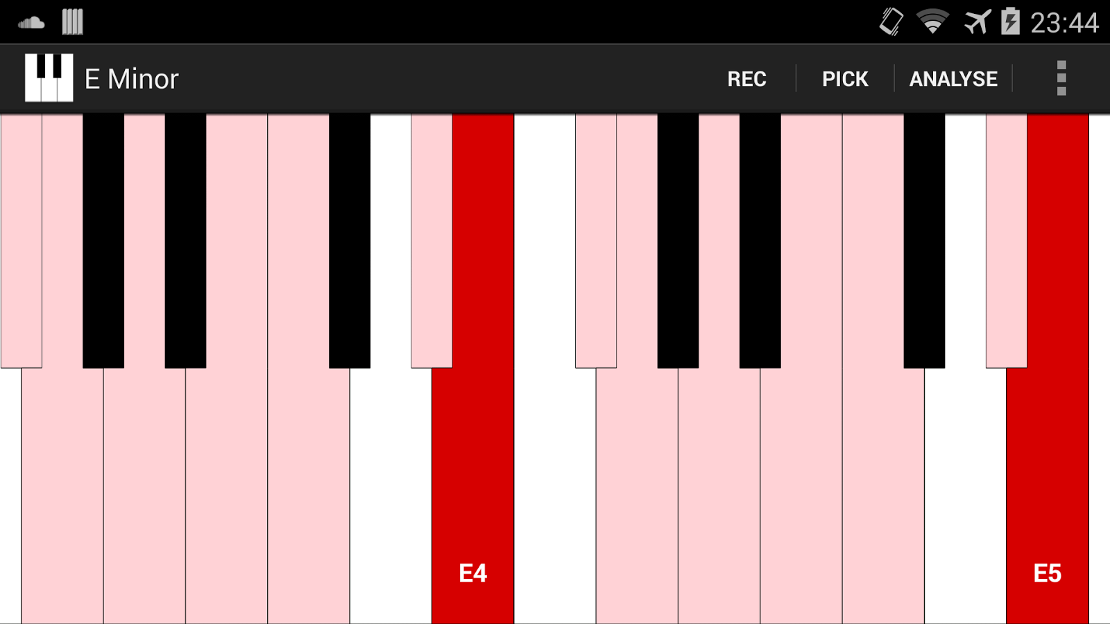 Smart Piano- screenshot