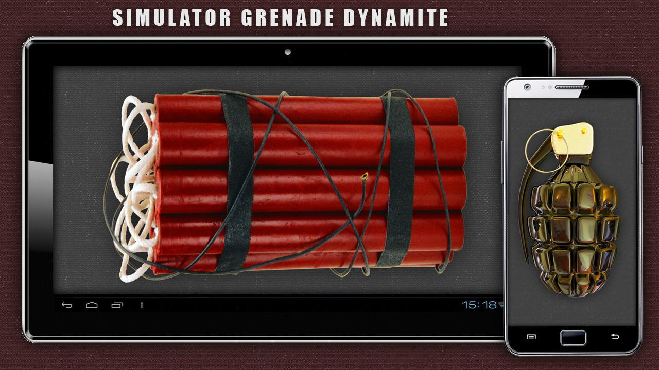 Simulator Grenade Dynamite - screenshot