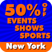 50% Off New York City Events