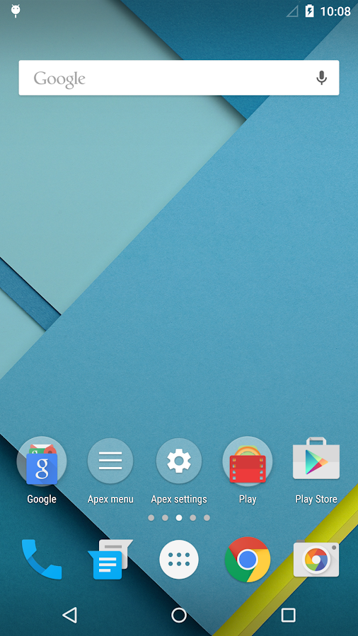 Apex Launcher – Screenshot