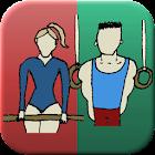 TumbleTally Gymnastics Tracker icon