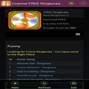 FREE Ringtones Crazme
