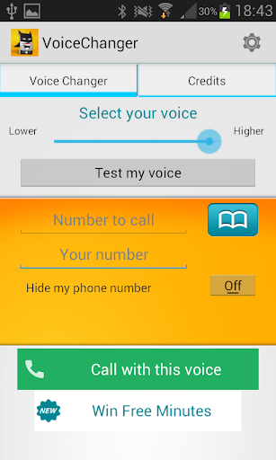 Voice Changer Calling Allogag