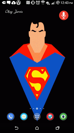 Superhero Live Wallpaper