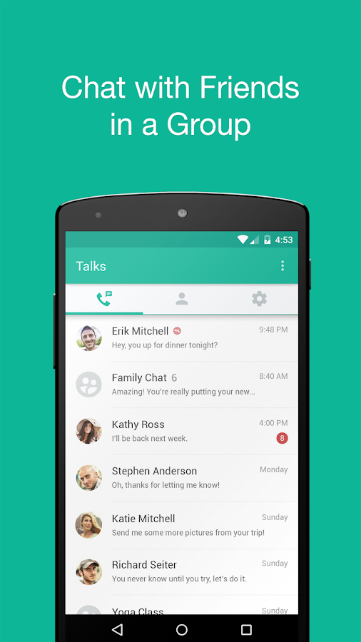 Talkray - Free Calls & Texts- screenshot