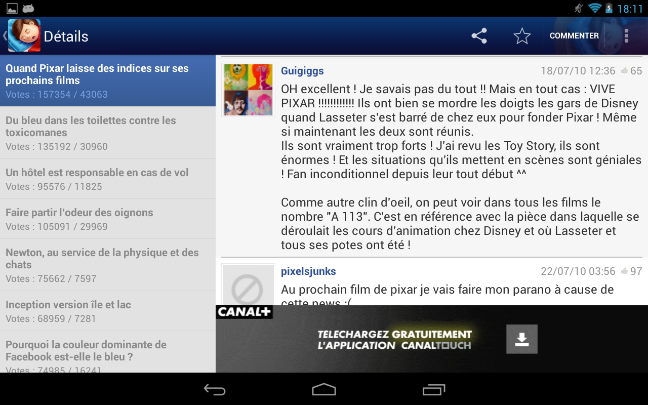 Se coucher moins b te android apps on google play - Ont va se coucher moins niaiseux ...
