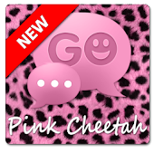 Pink Cheetah GO SMS Theme