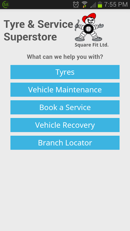 Tyre and Service Superstore - screenshot