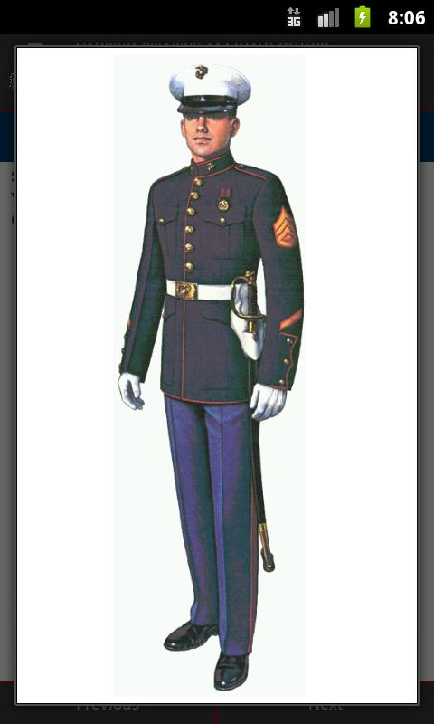 Marine Corps Uniforms - screenshot
