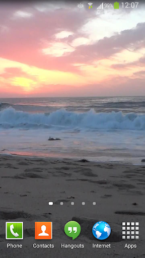 【免費個人化App】Ocean Waves Live Wallpaper 26-APP點子