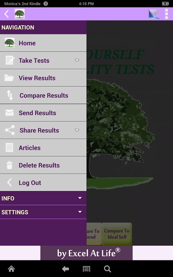 Know Yourself Personality Test- screenshot
