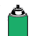 Spray Paint Can logo