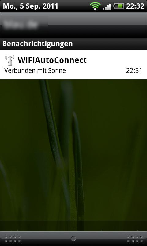 WiFiAutoConnect- screenshot