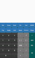 Screenshot of Vector Calculator