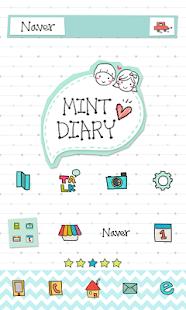 Mintdiary dodol launcher theme
