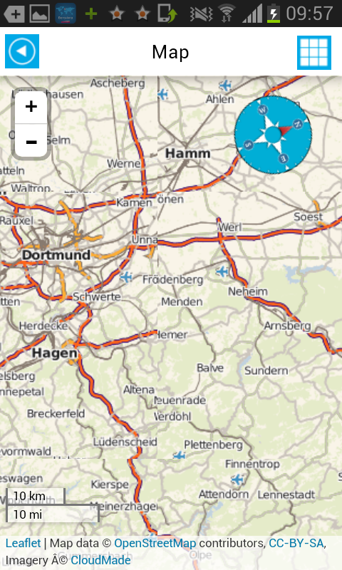 Germany Offline Road Map Guide Android Apps On Google Play - Germany map dortmund
