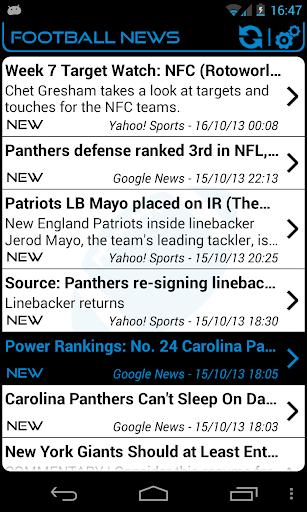 Carolina Football News