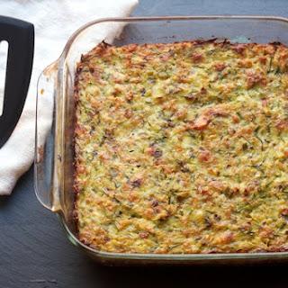 Eggy Zucchini Bake.