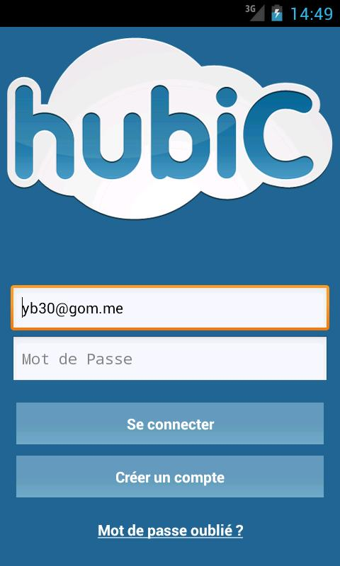 hubiC - screenshot
