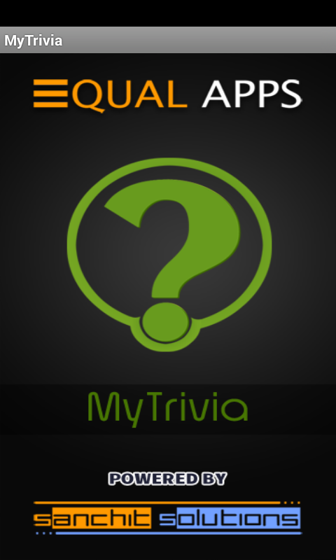 MyTrivia- screenshot