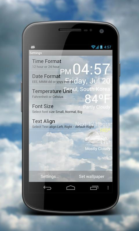 Weather Clock Live Screenshot 5