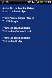 UK Trains Journey Planner Free - screenshot thumbnail