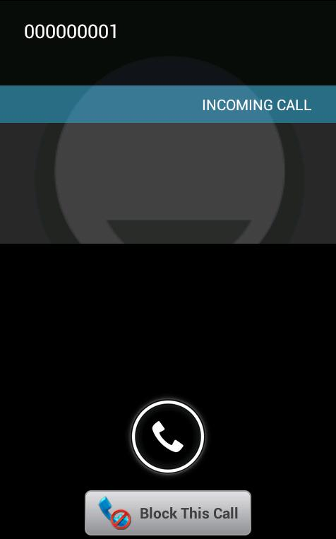 Logic Call and SMS Blocker- screenshot