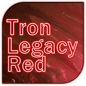 Tron Legacy Red Go Theme