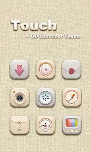 Touch GO Launcher Theme