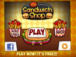 Screenshot of My Sandwich Shop - Food Store