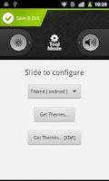 Screenshot of WidgetLocker Lockscreen