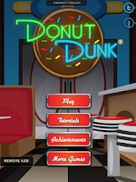 Screenshot of Donut Dunk