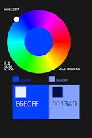 Screenshot of ColorWheel