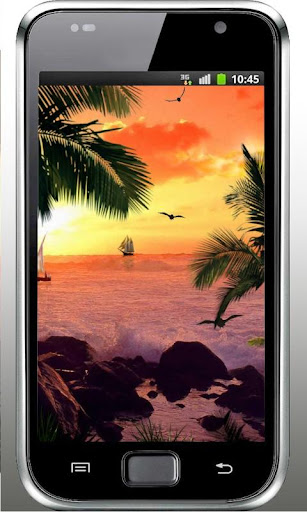 Beach Islands Sunset HD LWP