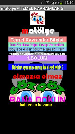 matematik YGS LYS KPSS Temel5