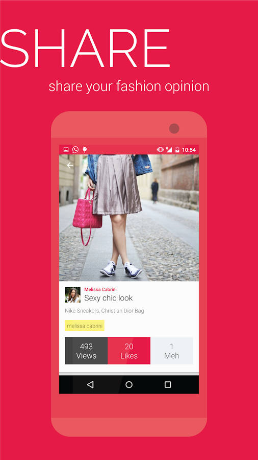 Personal shopper & stylist - screenshot