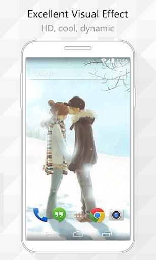 Sweet Couple Live Wallpaper