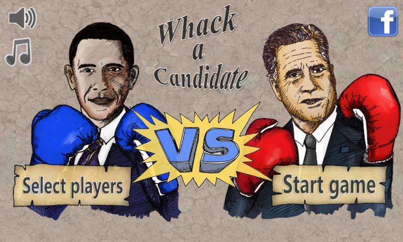 Whack a Candidate: Election'12- screenshot