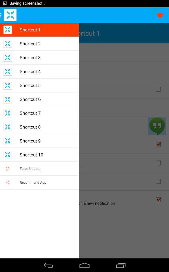 AppLauncher for DashClock - screenshot