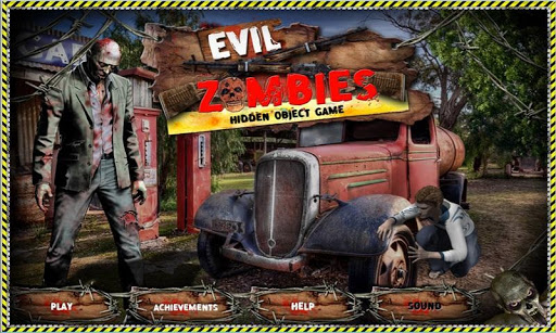 Evil Zombies - Hidden Objects